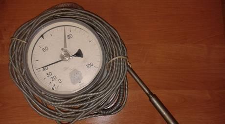 Фото ТПП-СК термометр манометрический гост 8624-71